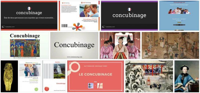 Concubinage