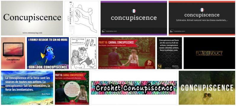 Concupiscence