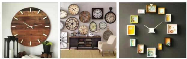 Photo Wall Clocks